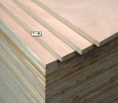 紧密拼接而成的细木工板