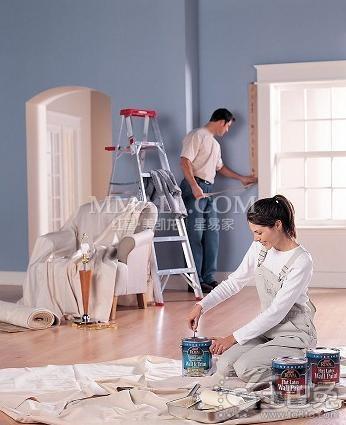 家装油漆施工工艺流程